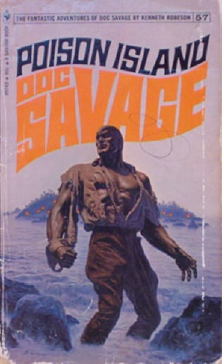 book cover of Poison Island