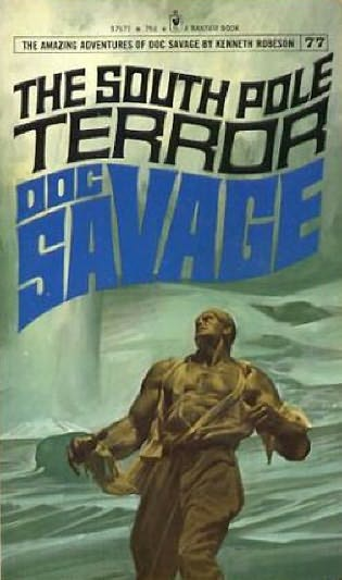 book cover of The South Pole Terror