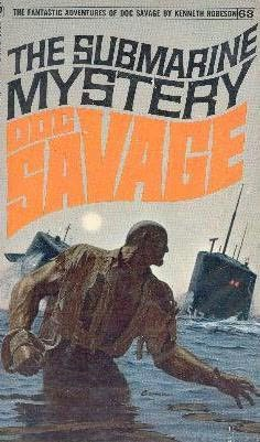 book cover of The Submarine Mystery