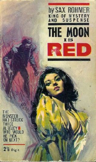 book cover of The Moon Is Red