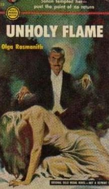 book cover of Unholy Flame