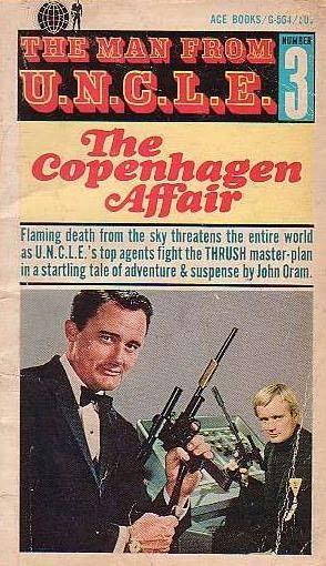book cover of The Copenhagen Affair