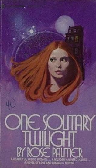 book cover of One Solitary Twilight