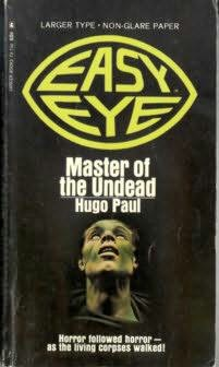 book cover of Master of the Undead