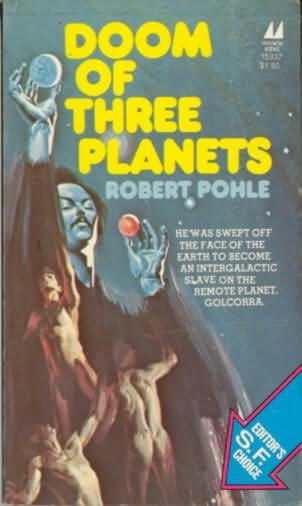 book cover of Doom of Three Planets