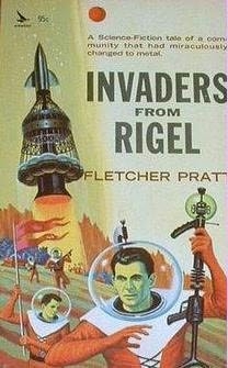 book cover of Invaders from Rigel