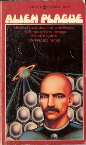 book cover of Alien Plague