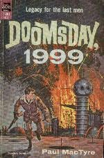 book cover of Doomsday, 1999