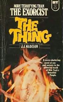 book cover of The Thing
