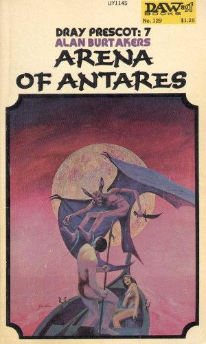 book cover of Arena of Antares