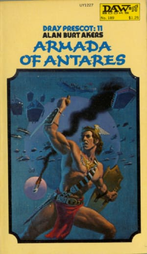 book cover of Armada of Antares