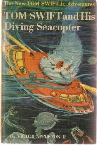 book cover of Tom Swift and His Diving Seacopter