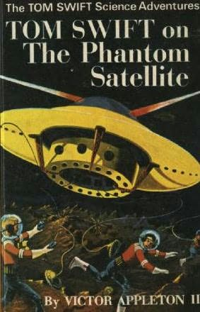 book cover of Tom Swift on the Phantom Satellite