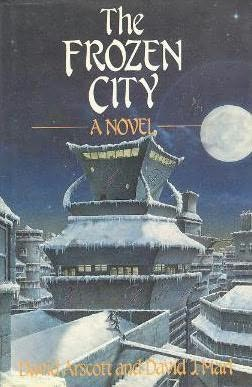book cover of The Frozen City