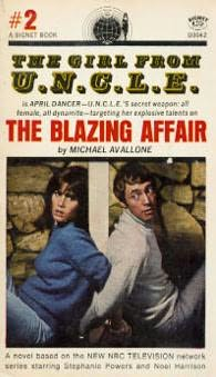 book cover of The Blazing Affair