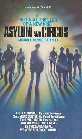 book cover of Asylum and Circus