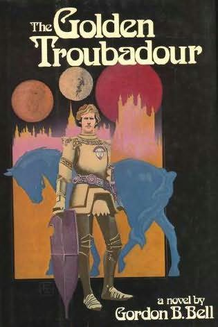 book cover of The Golden Troubadour