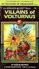 book cover of Villains of Volturnus