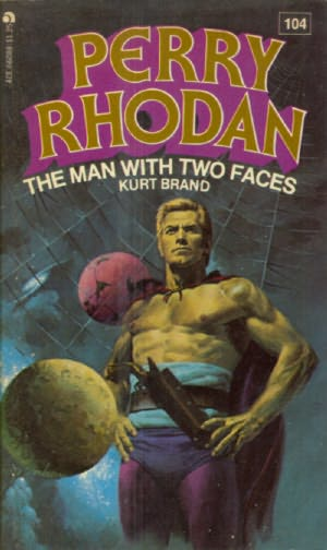 book cover of The Man with Two Faces