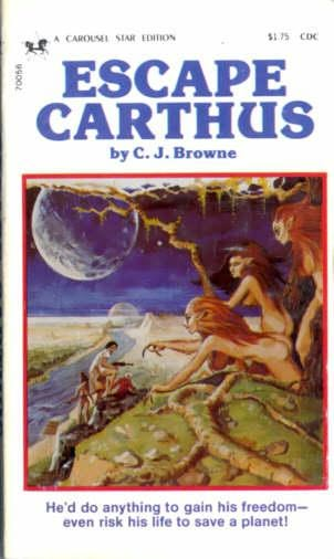 book cover of Escape Carthus