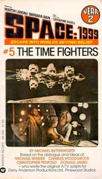 book cover of The Time Fighters