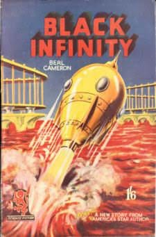 book cover of Black Infinity