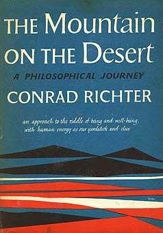 book cover of The Mountain On the Desert