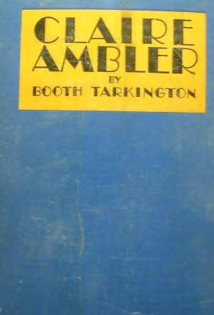 book cover of Claire Ambler