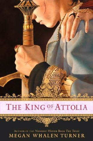 book cover of The King of Attolia