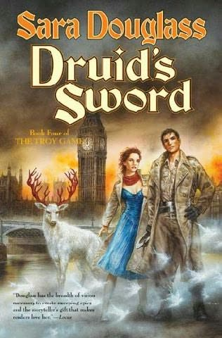 book cover of Druids\' Sword