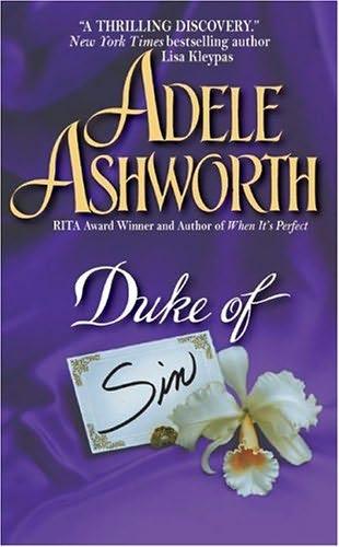 book cover of Duke of Sin