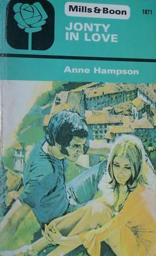 book cover of Jonty in love