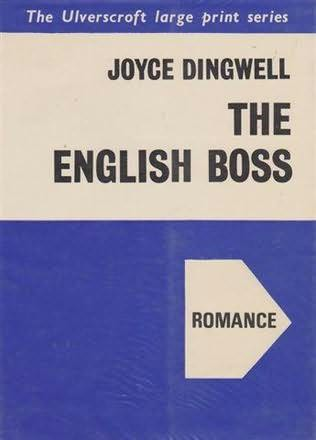 book cover of The English boss
