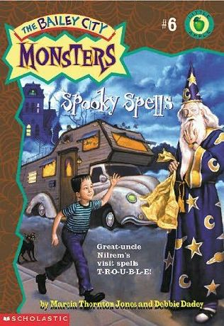 book cover of Spooky Spells