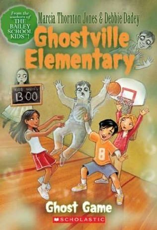 book cover of Ghost Game
