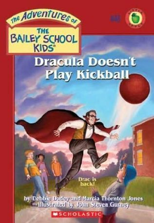 book cover of Dracula Doesn\'t Play Kickball