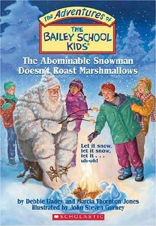 book cover of The Abominable Snowman Doesn\'t Roast Marshmallows