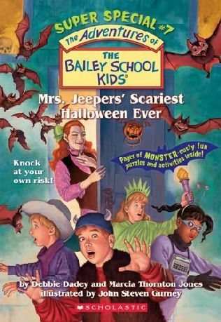 book cover of Mrs. Jeepers\' Scariest Halloween Ever