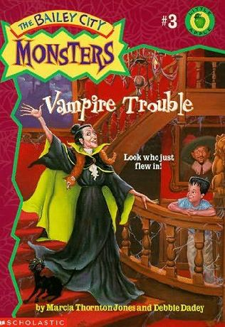 book cover of Vampire Trouble