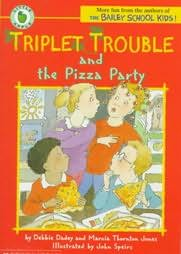 book cover of The Pizza Party