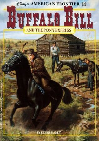 book cover of Buffalo Bill and the Pony Express