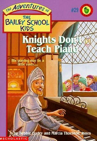 book cover of Knights Don\'t Teach Piano