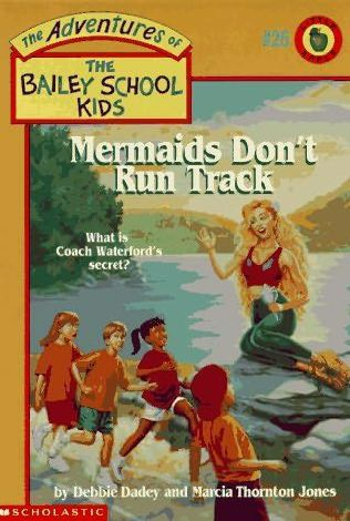 book cover of Mermaids Don\'t Run Track