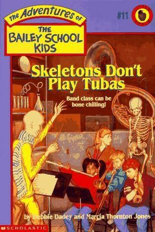 book cover of Skeletons Dont Play Tubas