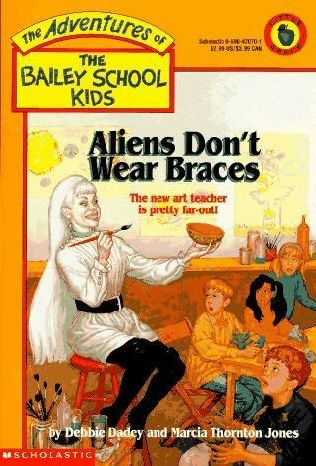 book cover of Aliens Don\'t Wear Braces
