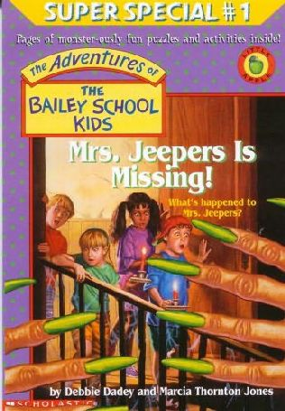 book cover of Mrs. Jeepers Is Missing!