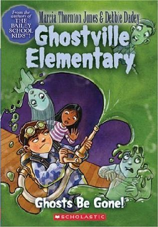 book cover of Ghosts Be Gone!