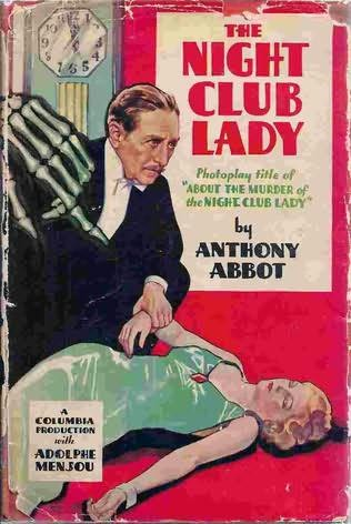 book cover of The Murder of the Night Club Lady
