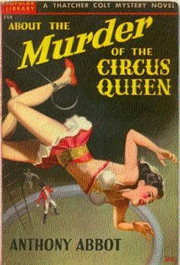 book cover of The Murder of the Circus Queen
