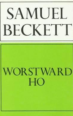 book cover of Worstward Ho
